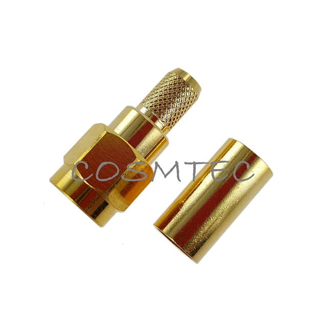 SMA PLUG CRIMP FOR RG-58,RG-142,RG-195,RG-223,LMR200