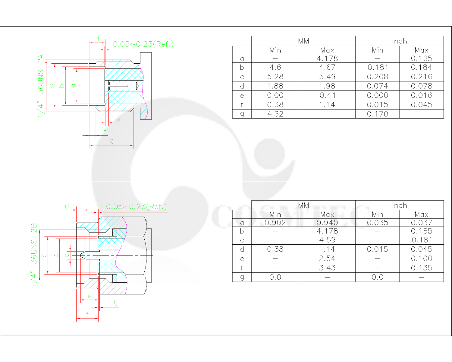 Sma Rf Connector Wiring Diagram Cosmtec Products